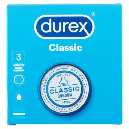 Durex Classic Prezerwatywy 3szt (2)