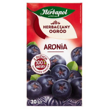 Herbapol Herbaciany Ogród Herbatka owocowo-ziołowa aronia 70g (20 tb) (2)