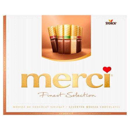 Merci Finest Selection Kolekcja czekoladek z musem czekoladowym 210g (1)