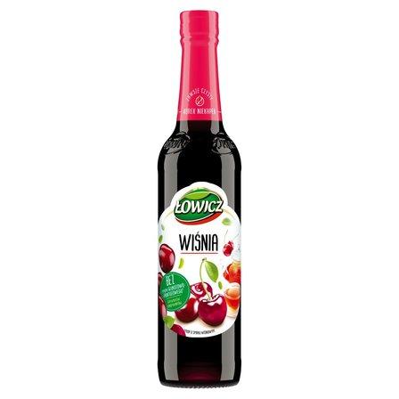 Łowicz Syrop o smaku wiśniowym 400 ml (1)