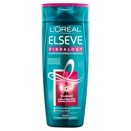 L'Oreal Paris Elseve Fibralogy Szampon Ekspansja Gęstości do włosów cienkich 400ml (1)
