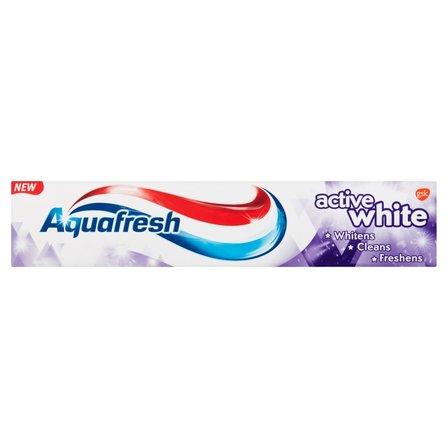 AQUAFRESH Active White Pasta do zębów z fluorkiem (2)
