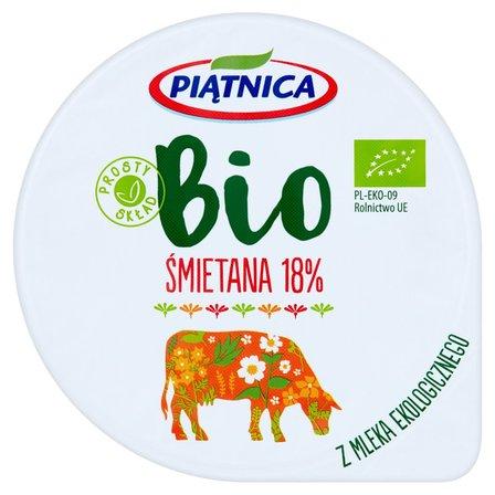 Piątnica Bio Śmietana 18% 200g (2)
