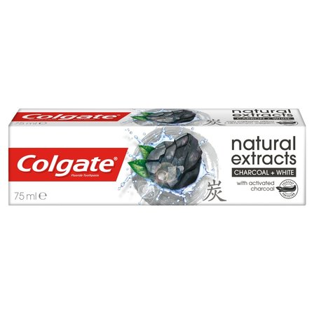 Colgate Natural Extracts Charcoal + White Pasta do zębów 75ml (2)
