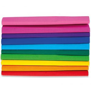 Happy Color Bibuła marszczona tęczowa Mix kolorów 10szt. (1)