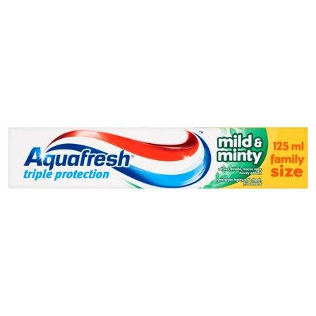 AQUAFRESH Triple Protection Mild and Minty Pasta do zębów (2)
