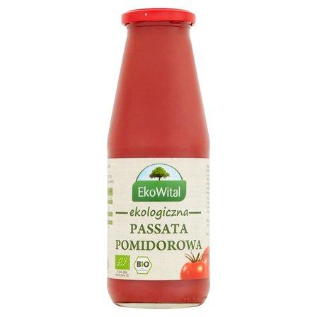 EkoWital Ekologiczna passata pomidorowa 680g (1)