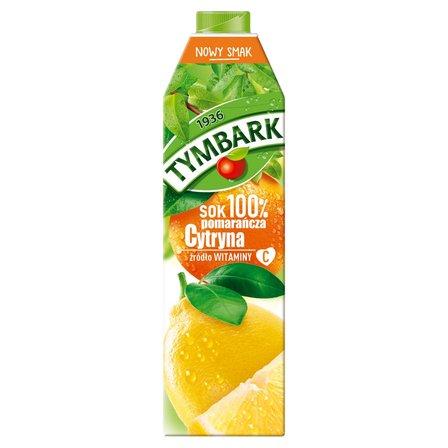 Tymbark Sok 100% pomarańcza cytryna 1 l (2)