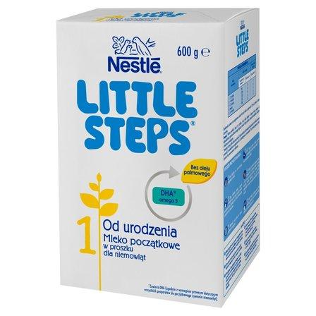 LITTLE STEPS 1 Mleko początkowe dla niemowląt od urodzenia 600g (2x300g) (1)