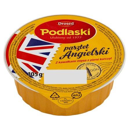 Drosed Podlaski Pasztet Angielski z kawałkami mięsa z piersi kurcząt 105g (1)