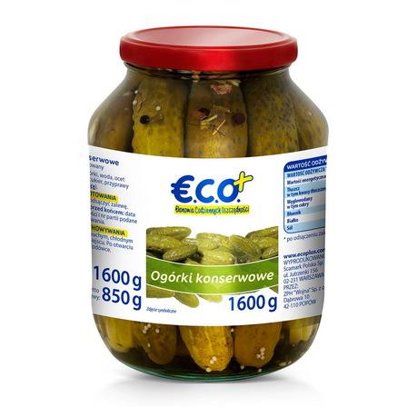 €.C.O.+ Ogórki konserwowe 1,6kg (1)