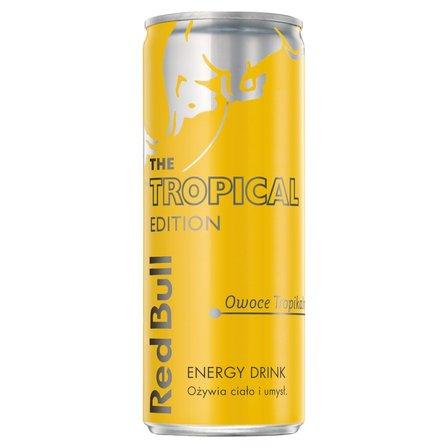 Red Bull Napój energetyczny owoce tropikalne 250ml (2)