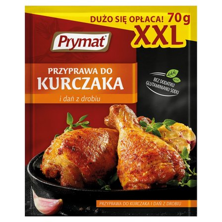 Prymat Przyprawa do kurczaka i dań z drobiu XXL 70g (1)