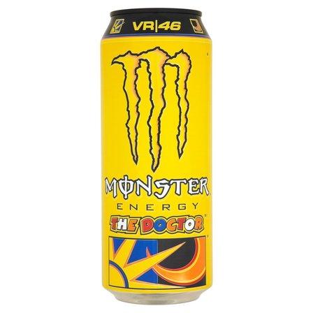 Monster Energy The Doctor Gazowany napój energetyzujący 500ml (2)