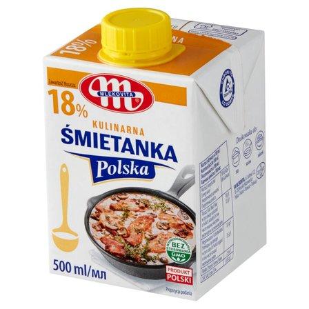 Mlekovita Śmietanka Polska 18% 500ml (1)