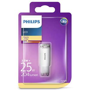 PHILIPS Żarówka kapsułka LED 2.5W (25W) 204lm G9 ciepły biały (1)