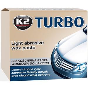K2 Turbo Lekkościerna pasta woskowa do lakieru 250g (1)