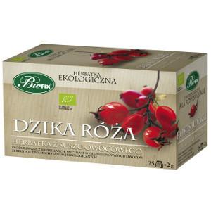 Biofix Dzika róża Ekologiczna herbatka z suszu owocowego 50g (25 tb) (1)