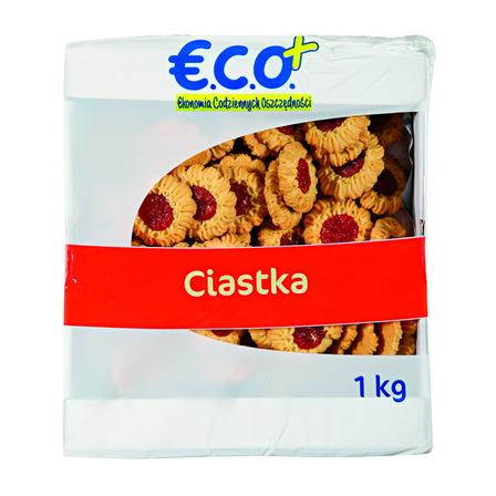 E.C.O.+ Ciasteczka opakowanie uniwersalne Ciasteczka stokrotka 1kg (1)