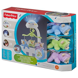 FISHER-PRICE Karuzelka z misiami 3w1 (0+) (2)