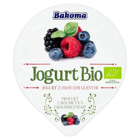 Bakoma Jogurt Bio z owocami leśnymi 140g (2)