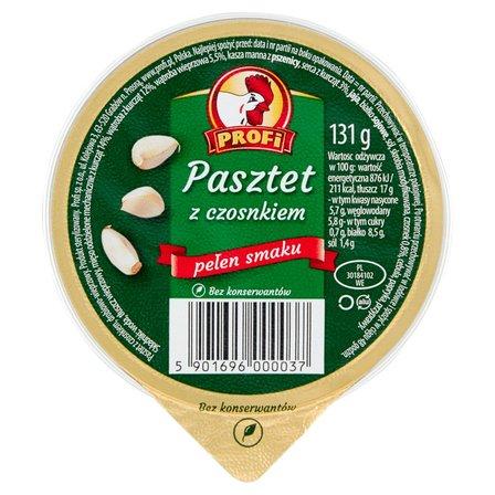 Profi Pasztet z czosnkiem 131g (2)