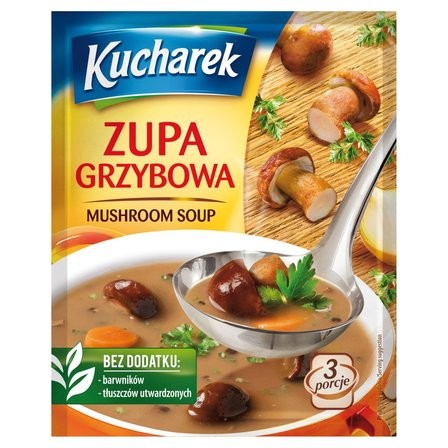 Kucharek Zupa grzybowa 42g (1)
