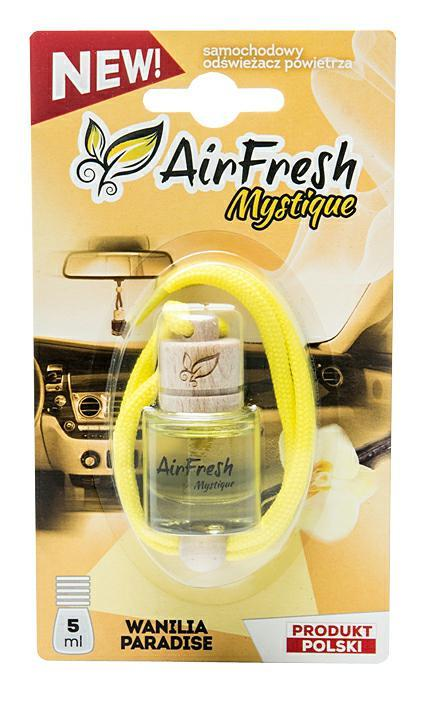 Zapach AIR FRESH MYSTIQUE 5ml wanilia paradise (1)