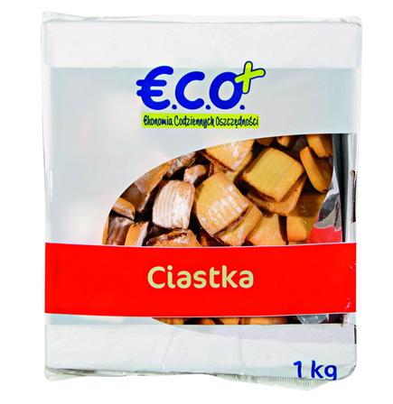E.C.O.+ Ciasteczka opakowanie uniwersalne Ciasteczka szarlotka 1kg (1)