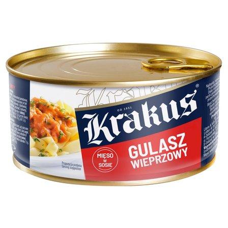 Krakus Gulasz wieprzowy Konserwa 300g (1)