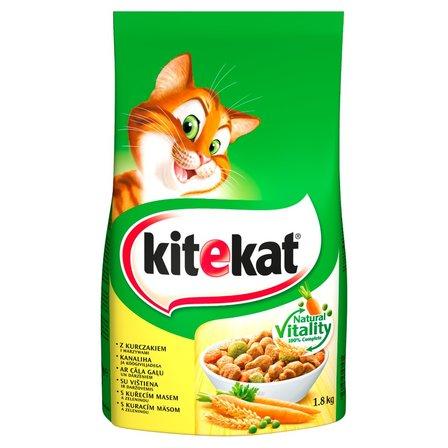 Kitekat Karma pełnoporcjowa z kurczakiem i warzywami 1,8kg (2)