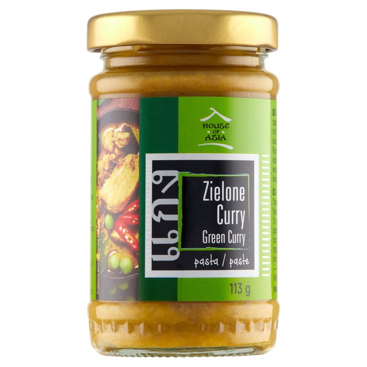 House of Asia Pasta zielone curry 113g (2)