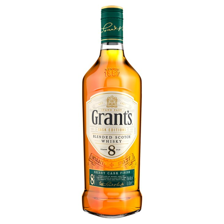 Grant's 8 Years Old Sherry Cask Finish Scotch Whisky 700ml (1)