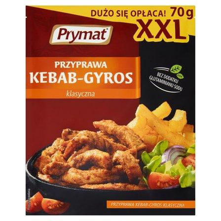 Prymat Przyprawa kebab-gyros klasyczna XXL 70g (1)