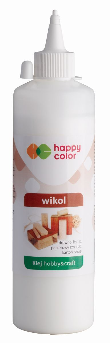Klej Wikol premium, butelka 250g, Happy Color (1)
