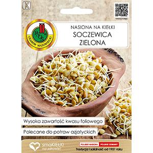 PNOS Nasiona na kiełki Soczewica zielona gr.K (1)