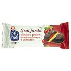 Wiodąca Marka Gracjanki biszkopty z galaretką o smaku wiśniowym w czekoladzie 150g (2)