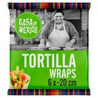 Casa de Mexico Placek pszenny tortilla 20 cm 240g (6szt) (1)