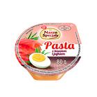 Wiodąca Marka Pasta z jajkiem i łososiem 80g (2)