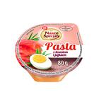 Wiodąca Marka Pasta z jajkiem i łososiem 80g (1)
