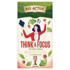 Big-Active Think & Focus Herbata zielona miłorząb japoński z orzeszkami kola 30g (20 tb) (2)