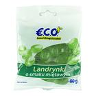 E.C.O.+ Landrynki o smaku miętowym 80g (2)