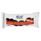 E.C.O.+ Biszkopty z galaretką o smaku pomarańczowym w polewie kakaowej 135g (1)
