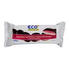 E.C.O.+ Biszkopty z galaretką o smaku malinowym w polewie kakaowej 135g (1)
