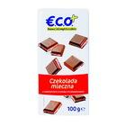 €.C.O.+ czekolada mleczna z nadzieniem o smaku  truskawkowym 100g (2)